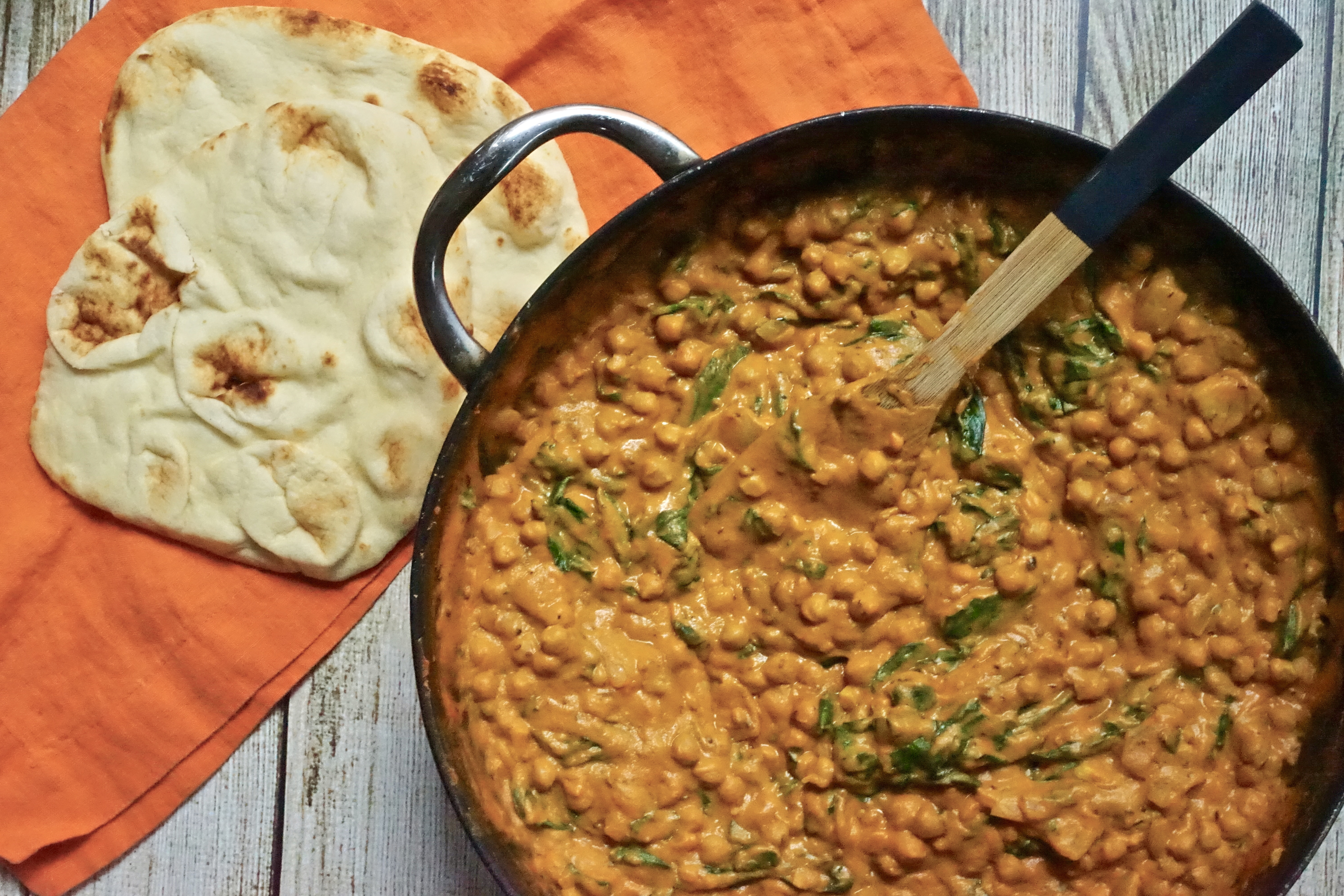 Incredibly Good Sweet Potato and Chickpea Curry
