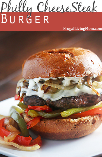Philly CheeseSteak Burger